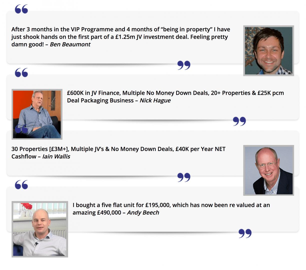 The Progressive Property VIP Programme