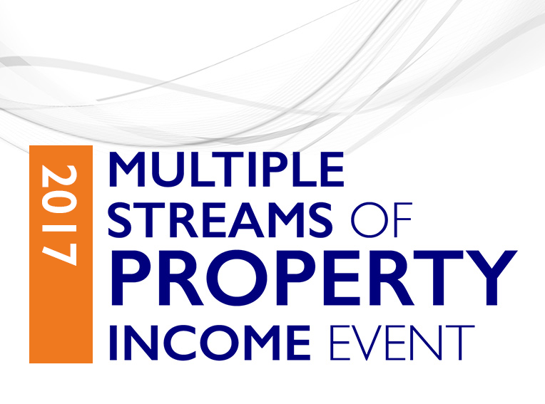 The Life Changing Multiple Streams of Property Income Live Event. The only event of its kind in the UK where multiple streams of property income are revealed in a full-on 3 day networking